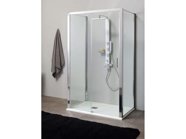 Box doccia centro parete PSCQUICK + FISSO | Box doccia centro parete