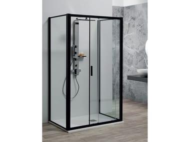 Box doccia centro parete PSCRAPID + FISSO | Box doccia centro parete
