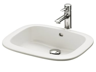 Lavabos p blicos muebles para ba os p blicos archiproducts Lavabos encastrables bano