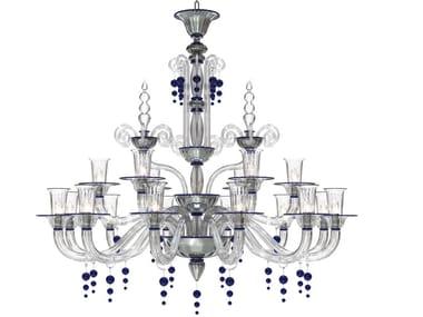 Murano glass chandelier PUCCINI