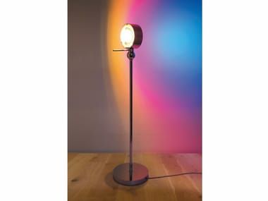 Metal table lamp with fixed arm PUK MIKE | Table lamp