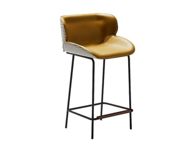 Barstool with footrest PUNCH