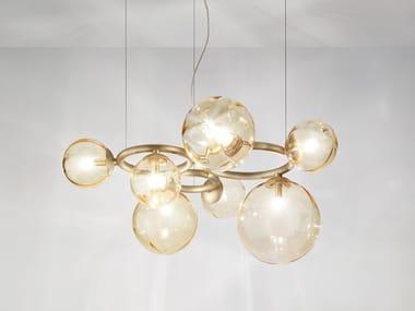 LED direct-indirect light pendant lamp PUPPET RING | Pendant lamp