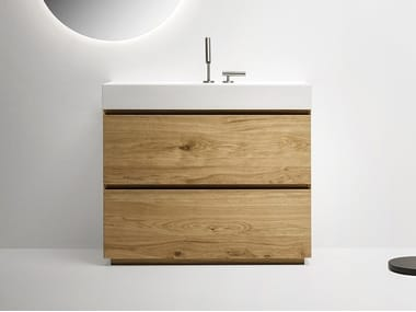 Single vanity unit with drawers PURE | Vanity unit
