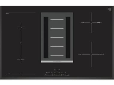 Induction glass hob with integrated hood Class A PVS851F21E | Hob Class A