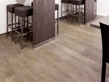 PVC flooring with wood effect PW 1246