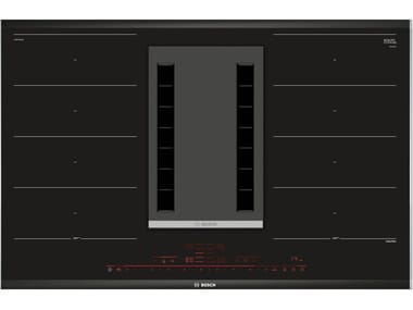 Induction glass ceramic hob with integrated hood Class A PXX875D34E | Induction hob