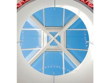 Finestra da tetto in acciaio e vetro PYRAMID