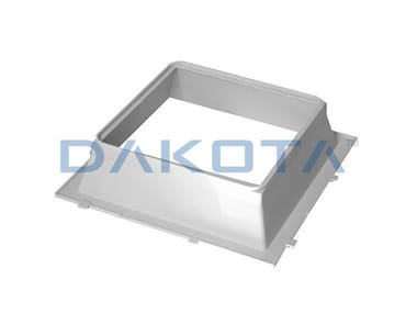 Tile Truncated cone for laying glass blocks PYRAMIDAL FRAME