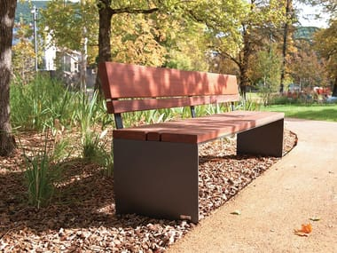 Bench with back PYSA | Bench with back