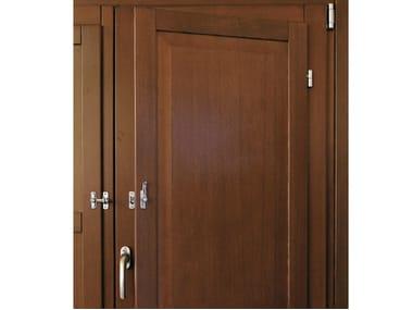 Wooden panel shutter Panel shutter