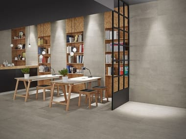 Anti-slip wall/floor tiles with stone effect SLABSTONE