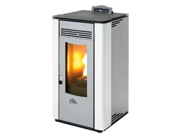Pellet stove for air heating Pellet stove