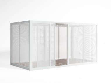 Adjustable aluminium solar shading Perforated Sheet Sidewalls