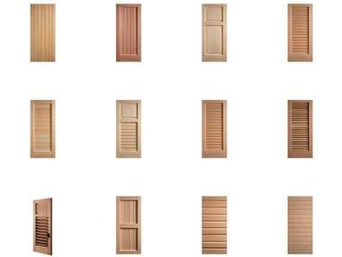 Wooden shutter Shutter