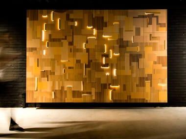 Lampada da parete a LED a luce diretta Philips Luminous Patterns