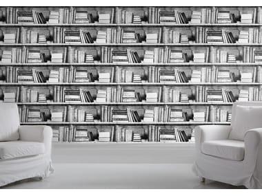 Trompe Loeil Wallpaper BOOKSHELF By Mineheart
