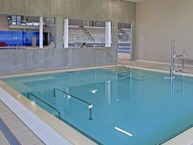 Teileingebaute Schwimmbecken Physiotherapy pools