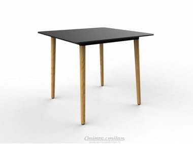Square HPL table PILOT | Square table
