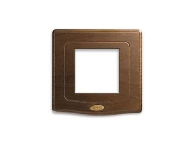 Placca in legno Placca in legno quadrata ENGLAND STYLE 44 |Per moduli