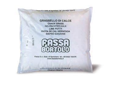 Pasta di calce idrata Grassello di calce
