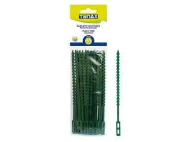 Fascette apri e chiudi in plastica per piante FASCETTE APRI-CHIUDI