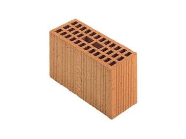 Mezzo blocco in laterizio modulari BIO per murature portanti antisismiche Porotherm BIO Modulare 30-12/23,8 (45)