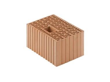 Blocco in laterizio BIO modulare per murature portanti antisismiche Porotherm BIO Modulare 35-25/19 (45)