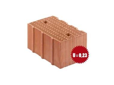 Blocco in laterizio Porotherm BIO PLAN 38-24/19,9 T - 0,09