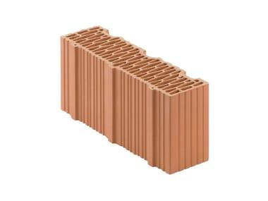 Mezzo Blocco in laterizio rettificato per murature da tamponamento Porotherm BIO PLAN 45-12/19,9 T mezzo