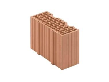 Mezzo blocco in laterizio a incastro Porotherm BIO inc 30-12/23,8 T mezzo
