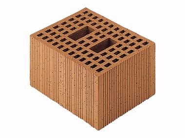 Loadbearing clay block for reinforced masonry Porotherm Modulare 30-25/19 (45 zs)