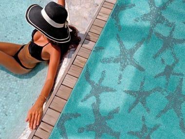 Rectangular polypropylene outdoor rugs DAFNE STELLE MARINE