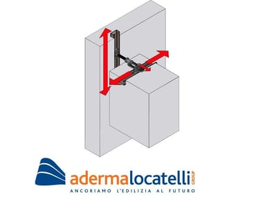 Support and anchor for reinforced concrete structure SEISMIC NODES