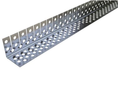 Profilo paraspigolo curvabile in acciaio Profilo paraspigolo in acciaio