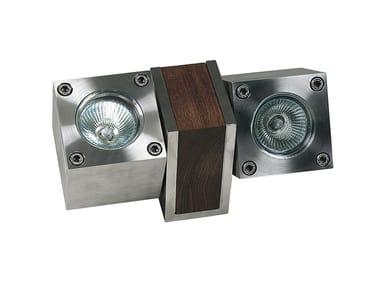 Adjustable stainless steel Outdoor floodlight Q-BIC | Outdoor floodlight
