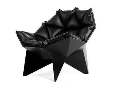 Lounge chair Q1 BLACK