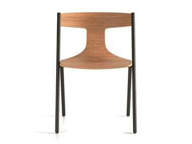 Multi-layer wood chair QUADRA | Chair