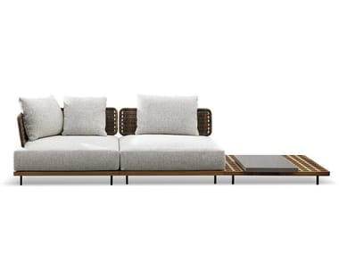 Outdoor sofa QUADRADO