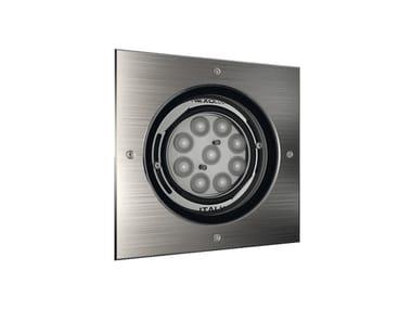 LED adjustable recessed Outdoor spotlight QUADRO 9