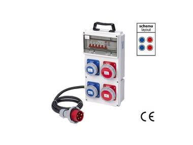 Quadro elettrico da cantiere QUADRO ASC DA CANTIERE IP 67 400 VOLT