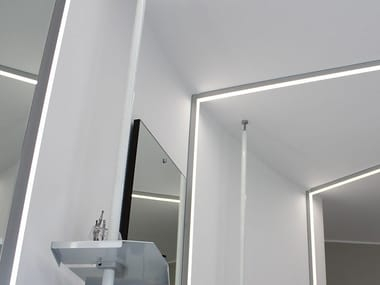 Linear lighting profile for LED modules QUADRO