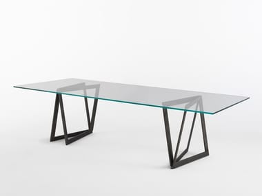 Rectangular table QUADROR™ 02