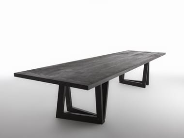 Rectangular ash table QUADROR™ 03