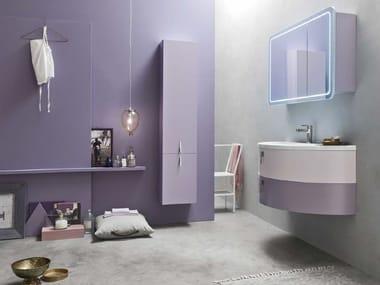 Sistema bagno componibile QUANTUM - COMPOSIZIONE 6