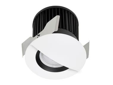 LED recessed aluminium spotlight QUANTUM WALL WASHER