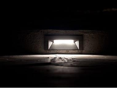 Segnapasso a LED a parete QUANTUM | Segnapasso a parete