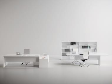 Office workstation / office desk QUARANTA5 - EXTRALONG