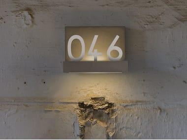 LED wall light QUARANTASEI