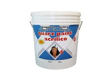 Idropittura acrilica al quarzo fine antialga QUARZ PAINT ACRILICO